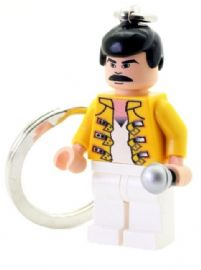 Freddie The Rock Star Keychain - Custom Designed Minifigure